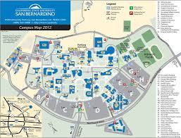 San Diego State University Campus Map by Cal State San Bernardino Maplets
