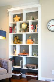 Bookshelf Makeover Ideas Bookcase Ideas A Quick Makeover U2022 Craft Thyme