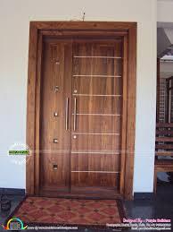 Surprising Front Double Door Designs In Tamilnadu Contemporary