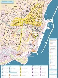 Tourist Map Of San Francisco by Santa Cruz De Tenerife Tourist Map