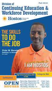 fall 2016 continuing education catalog by hostos community college