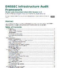 nlnet labs releases helpful dnssec infrastructure audit framework