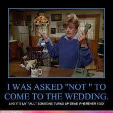 Murder She Wrote Meme - on the other hand it might be a way of guaranteeing the thinning