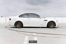 matte white bmw apex arc 8 matte bronze on alpine white e46 m3 u2022 buildjournal
