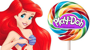 how to make disney princess inspired play doh lollipops fun