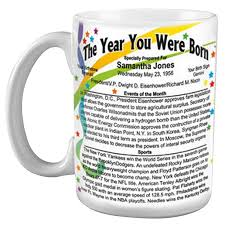 year you were born mug gift christmas gifts and xmas