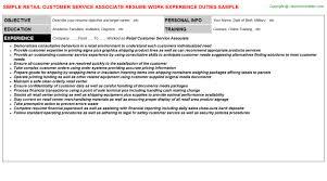 Customer Service Associate Resume Sample Zero Essay Work As A Resume Writer Resume For A Barista Meat