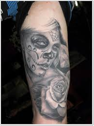 bloodcurdling day of the dead tattoos
