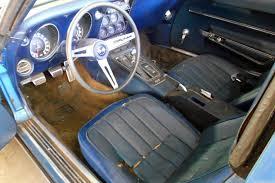 1968 corvette interior still dusty 1968 corvette l79