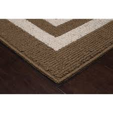 Plastic Carpet Runner Walmart by Mainstays Frame Border Area Rugs Or Runner Walmart Com