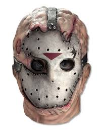 latex halloween mask kits jason mask