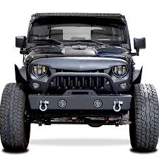 monster jeep jk genssi abs angry style grille for jeep wrangler jk 2007 2015