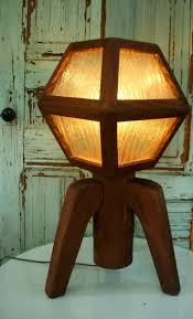 lamp lighting mood light rustic home decor mid century