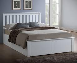 4ft Ottoman Beds Uk Livingston 4ft Hevea White Ottoman Bed Frame