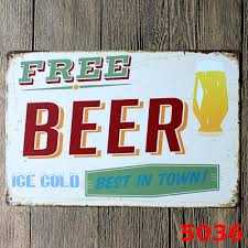 aliexpress com buy wall stickers 20 30cm poster home decor beer aliexpress com buy wall stickers 20 30cm poster home decor beer wine cheers bbq wall decalsmetal tin signs plate painting new home decoration from