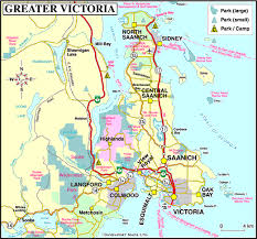 map of bc map of greater vancouver island events travel