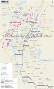 Metro Line Map by Metro Map