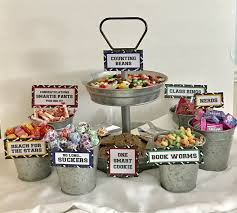 food ideas for a graduation party graduation candy signs set of