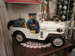 1950 u0027s battery operated police jeep japan collectors weekly