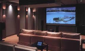 Home Theater Interiors Home Interior Decor Ideas - Home theatre interior design pictures