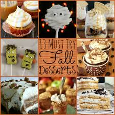 creative desserts for thanksgiving 13 must try fall desserts