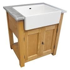 meuble de cuisine sous evier meuble cuisine massif meuble cuisine pin et zinc petit meuble