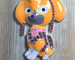 paw patrol necklaces etsy