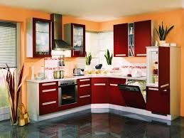 painting kitchen cabinets red painted kitchen cabinets before and