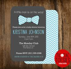 top collection of bow tie baby shower invitations online 13264