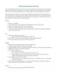 bathroom renovation checklist captivating checklist for remodeling