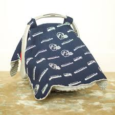 Carseat Canopy For Boy by Seattle Seahawks Baby Gear Carseat Canopy Cover Nfl Licensed