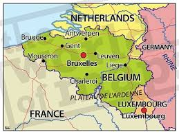 belgium language map why did belgium never fall apart into flanders wallonia and a