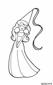 princess outline lof bees