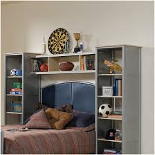 Bookcase Headboard King Furniture Home Awesome Oak Bookcase Headboard King 52 With