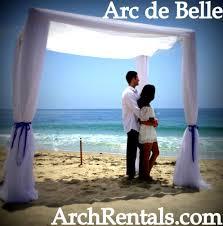 Wedding Arches Rental In Orlando Fl White Draped Wedding Chuppah Canopy Rentals Miami South Florida