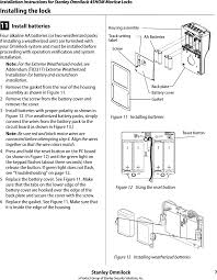 sdc2k wireless electronic lock user manual manual 3 stanley