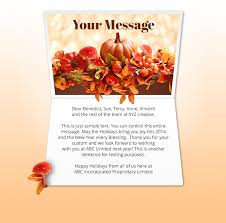 thanksgiving day cards business 28 images business
