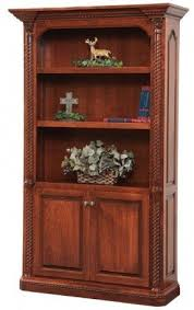 Cherry Bookcase With Glass Doors Cherry Bookcase With Doors Foter