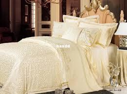 Luxury Bedspreads Bedroom Luxurious Silk Bedding Set California King Size