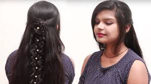 open hairstyles for round face dailymotion latest easy quick and beautiful hairstyle for girls stylish