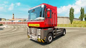 renault truck wallpaper heavy transport skin for renault truck for euro truck simulator 2