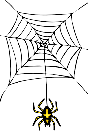 transparent halloween background spider clip art with transparent background clipart library