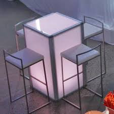 table and chair rentals nj hi top light up table for rent westchester ny party rental nj ct