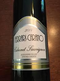 carano reserve cabernet 2014 carano cabernet sauvignon valley usa