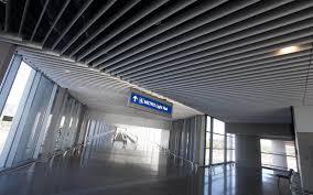 light rail to sky harbor phx sky train station 44th street kovach building enclosures