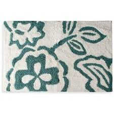 Oversized Bathroom Rugs Striped Bath Rug Mint 125 Sek Liked On Polyvore Featuring