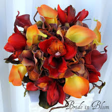 fall flowers for wedding fall bouquets for weddings purple fall flowers for weddings