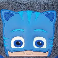 pj masks hooded towel catboy gekko luna romeo owlette