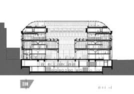 The Louvre Floor Plan by Dominique Perrault Restructuring Louvre Post Office Building