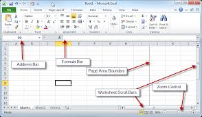 Microsoft Excel Worksheet Microsoft Excel Basics An Introduction To The Excel Workbook For